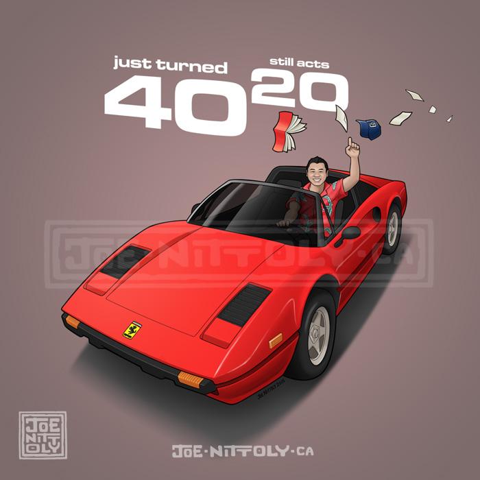 'Ferrari Mike' by Joe Nittoly