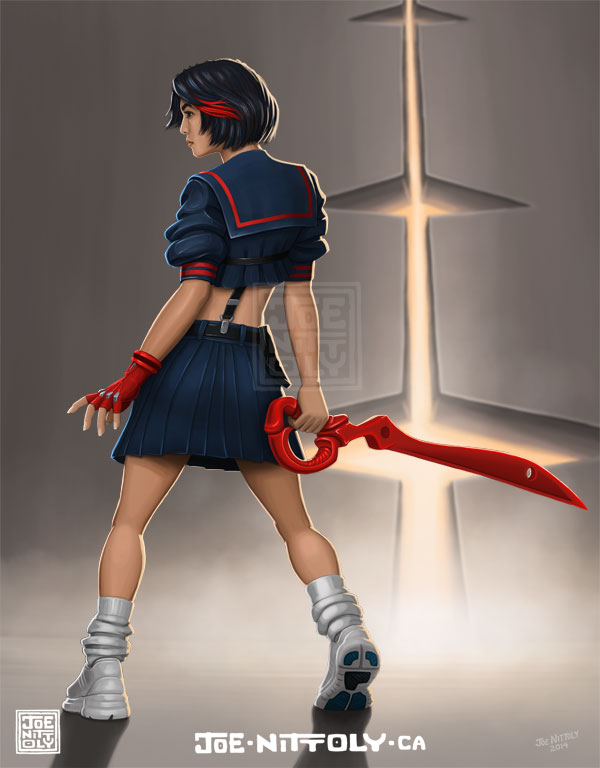 'Ryuko Matoi' by Joe Nittoly