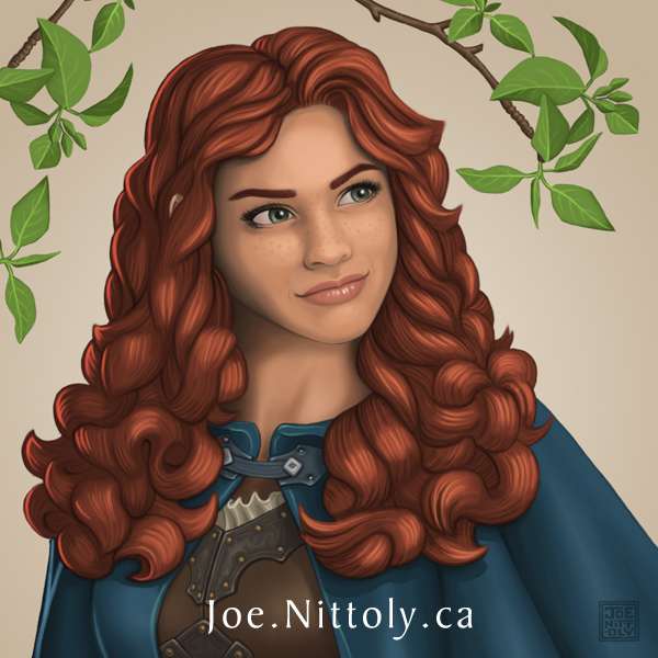'Rowan, Human Ranger' by Joe Nittoly