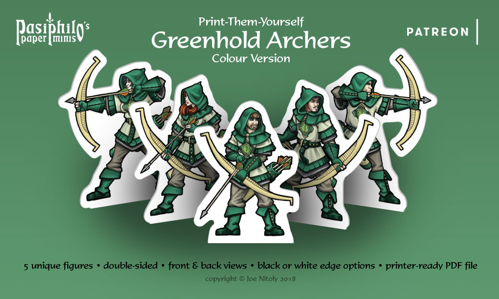Greenhold Archers (Colour version)