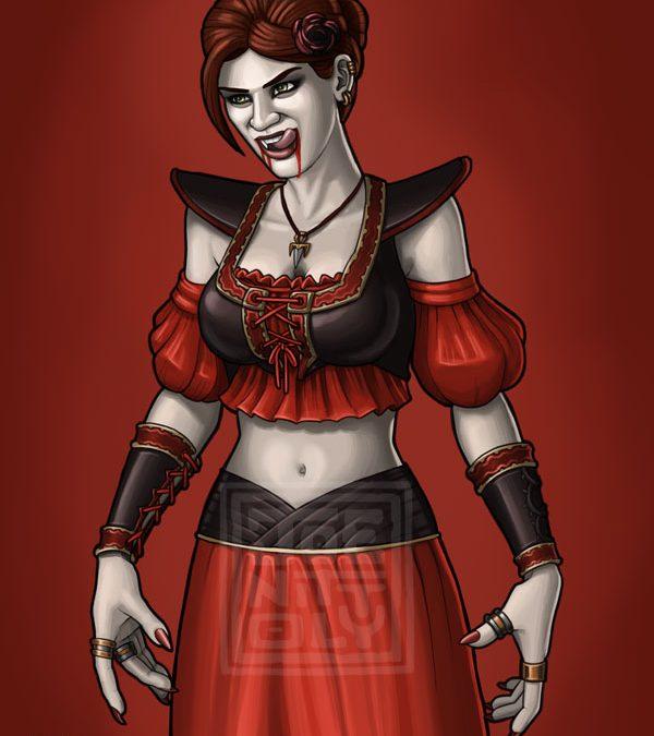 Black Rose Vampyre