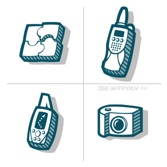 'Website Icons' by Joe Nittoly