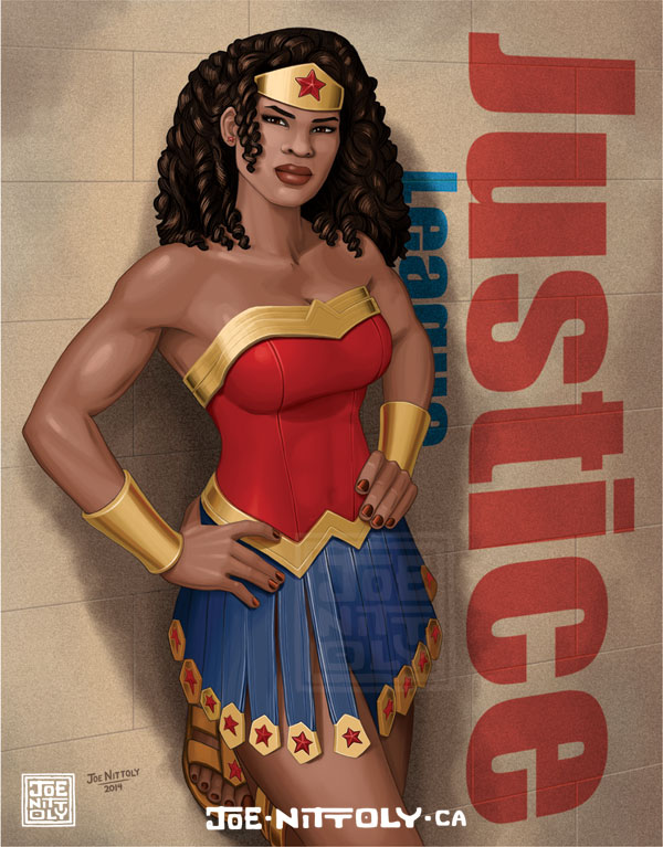 'Wonder Woman What-If' by Joe Nittoly