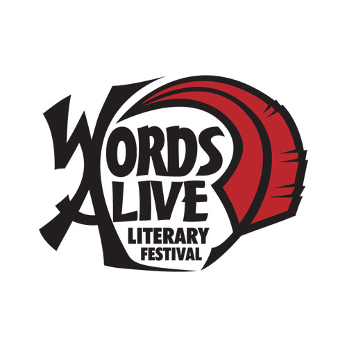'Words Alive Literary Festival logo' by Joe Nittoly