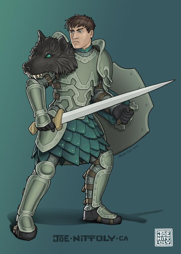 'Eldritch Knight' by Joe Nittoly