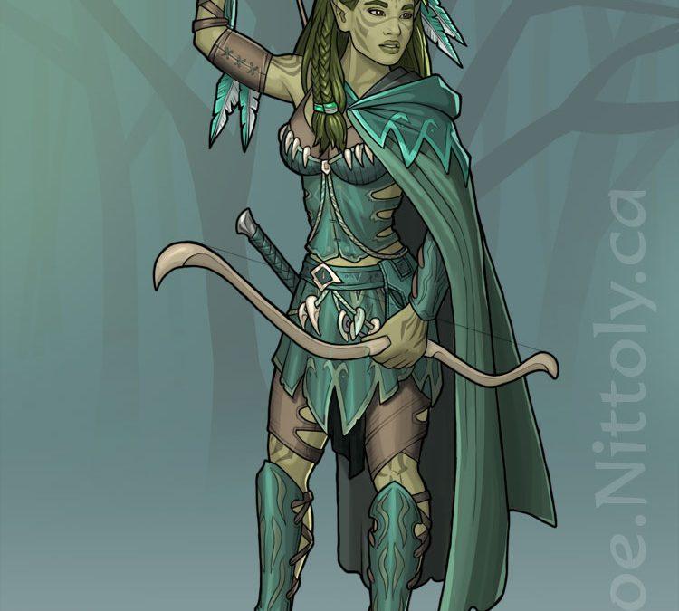 Imri, Wild Elf Ranger