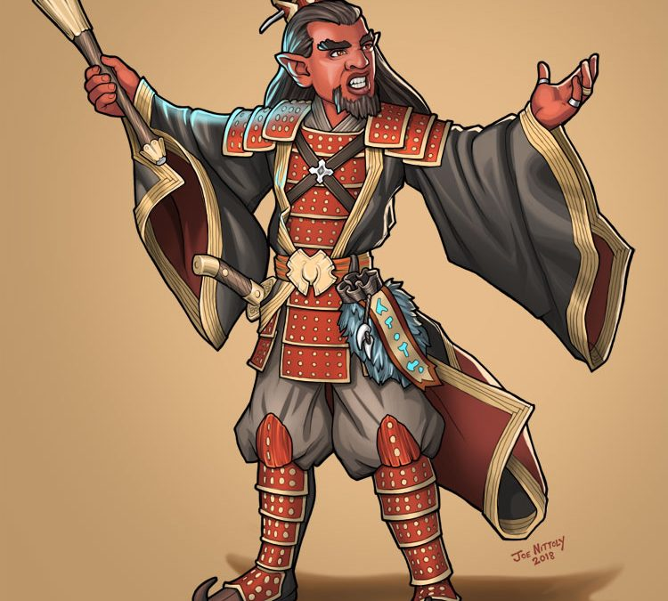 Gashuuryabek, Hobgoblin Wizard