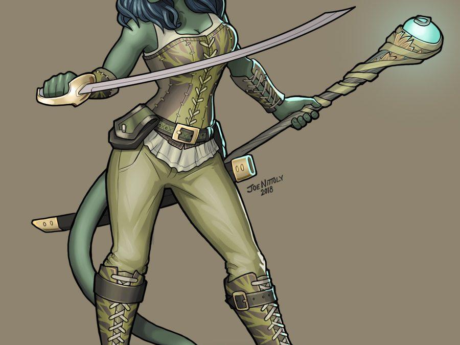 Ea, Tiefling Druid