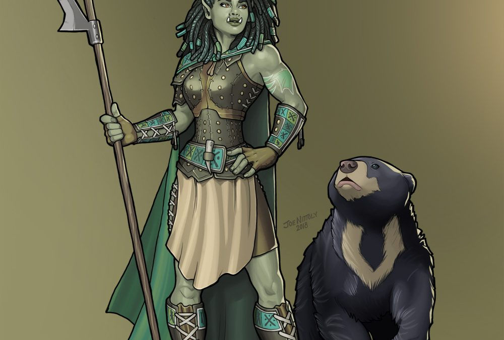 Shiv, Half-Orc Ranger