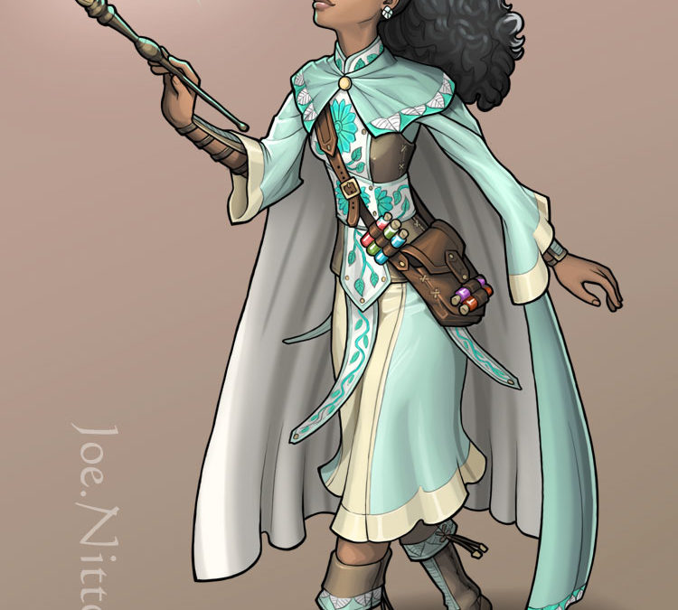 Liliana Trueheart, Wizard/Bard