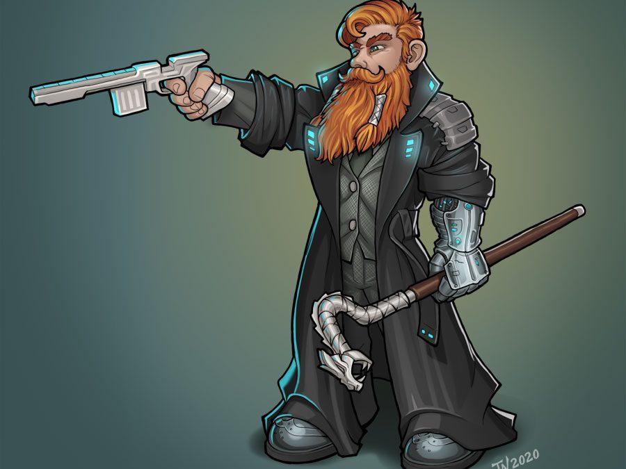Shadowrun Dwarf Fixer