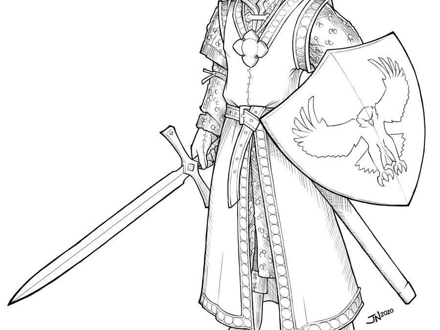Silas, Human Paladin of Vengeance