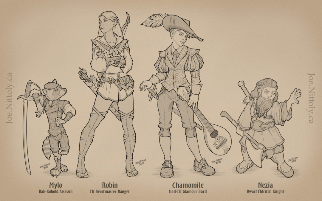 Adventuring Party Ensemble