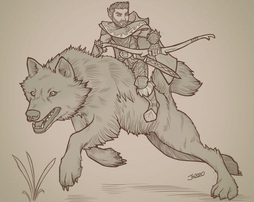 Vanu, Halfling Ranger